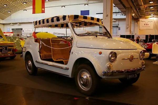 1967 Fiat Jolly Giardiniera by Ghia