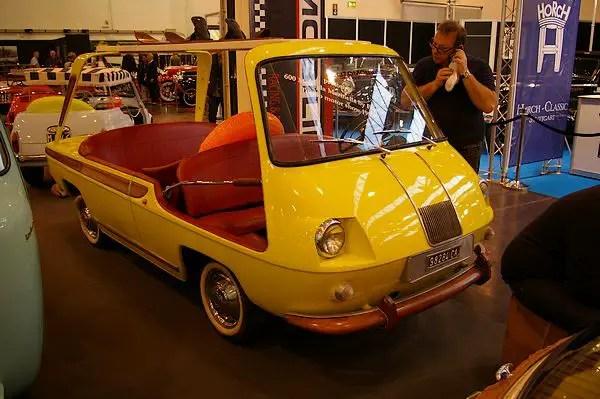 1957 Fiat Multipla Marinella prototype by Fissore