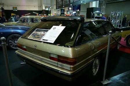 Lancia Gamma Olgiata design study by Pininfarina