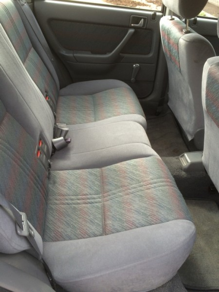 ...and cliched as it may sound, I don't think the back seats have ever been sat in