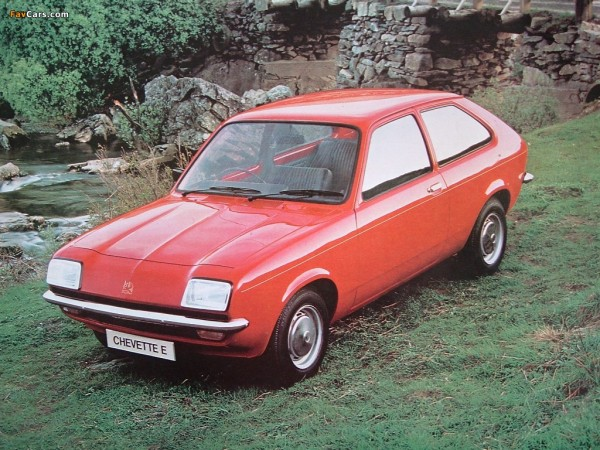 Happy 40th to the Ellesmere Port built Chevette!