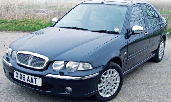 Another of Craig's old hacks - 45 Connoisseur was really quite posh, and only cost £500 in 2011