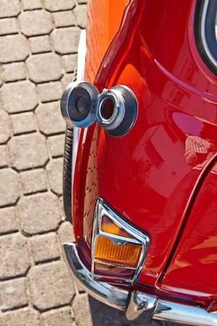 Some original dealer options, like metal rear lamp protectors