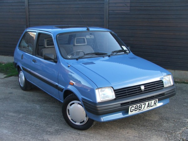 Craig's Metro Clubman - rescued from round the back of a Vauxhall dealership in 2010, and currently still in preservation.