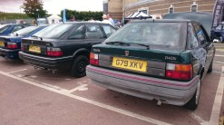 Rover 214 GSi - first off the line