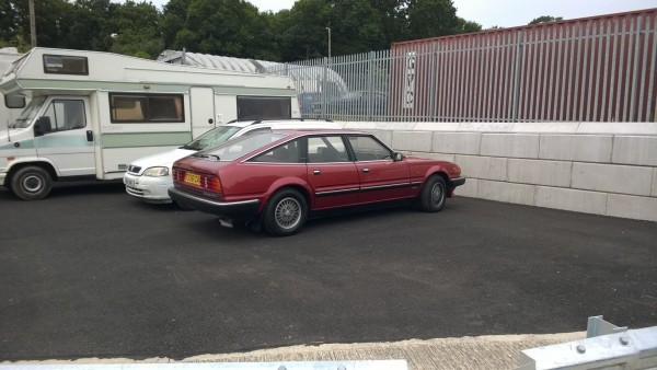 Parked around the back was this SD1 VDP that hid in the showroom of Derek J Ketteringham Motors Neasden for many years.