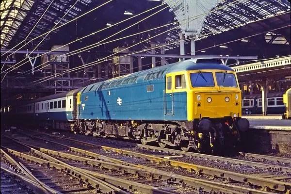 47539 AKA D1718 at Liverpool Street 1982