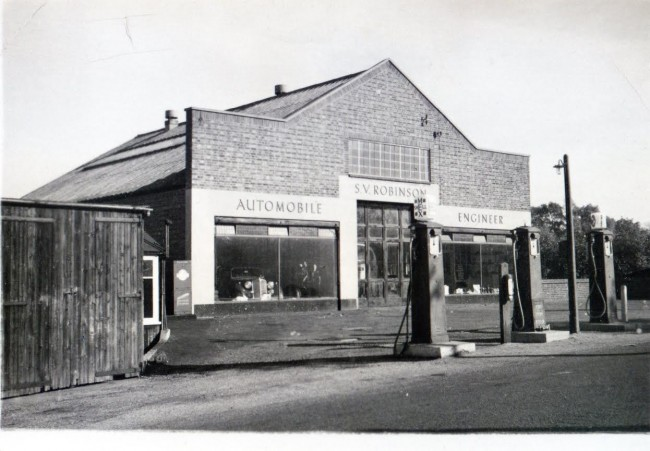 S.V Robinson premises before expansion circa 1940.