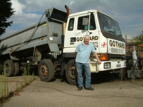Despite trying out rival vehicles Tony claimed the Leyland Constructor couldn't be beaten for his type of work.