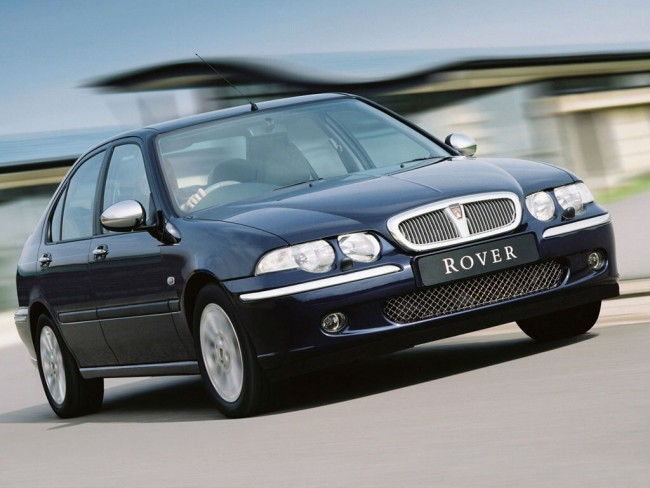 In the real world, cars like this Rover 45 are as worthless as a broken mirror. To us fans of the brand they are worth what we are happy to pay.