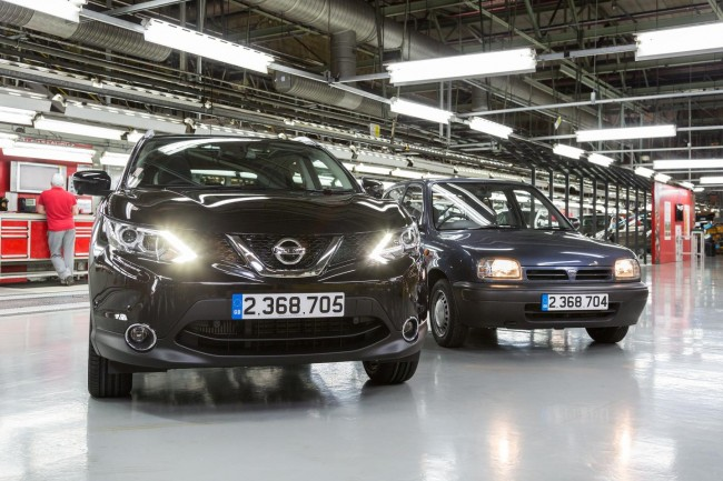 NIssan Qashqai now Nissan's most successful UK-built car