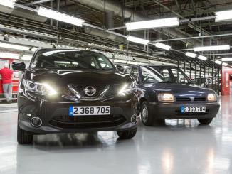 NIssan Qashqai now Nissan's most successful UK-built car