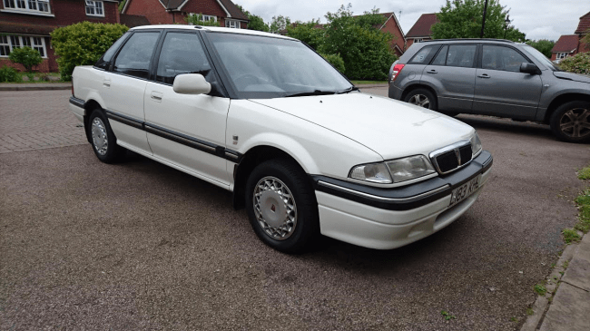 Here she is - a 1993 416 GSi automatic with 73,000 miles.