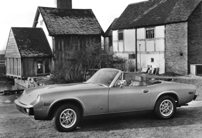 The Jensen Healey would end up being something of a test bed for Lotus' new engine.