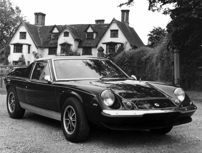Lotus Europa Special wasn't upmarket enough for Colin Chapman by the early 1970s.