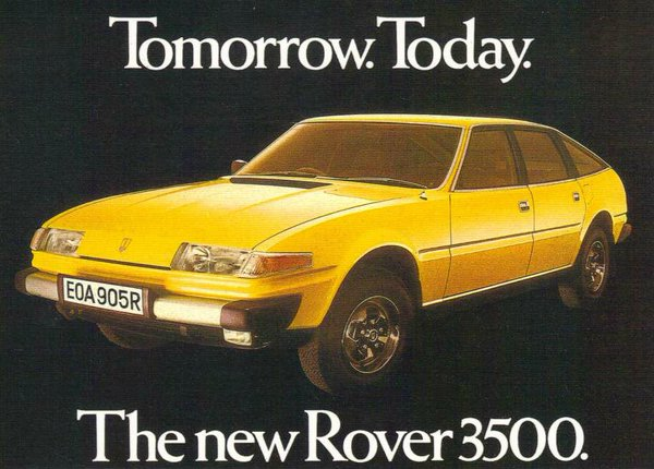 Rover SD1 tomorrow today