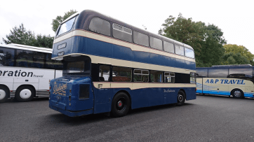 The Lincolnshire independent Delaine was and still is famous for its immaculate vehicles - like this 1960s Leyland Atlantean