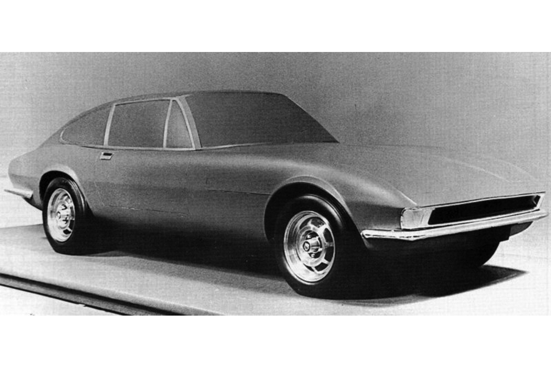 Jaguar Xj21 Secret E Type Replacement That Was Canned Before Launch 1970 Xj6 Art
