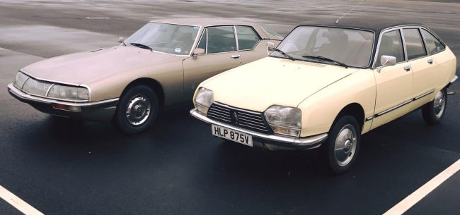 By the end of 1970, Citroen had these two cars - the SM and GS - in its range, making it the most forward-looking of all European carmakers at the time.