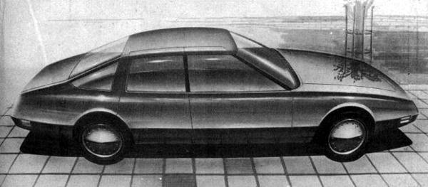 Rover P10 drawing