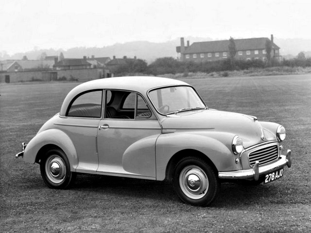 Morris Minor saloon production ended in 1970