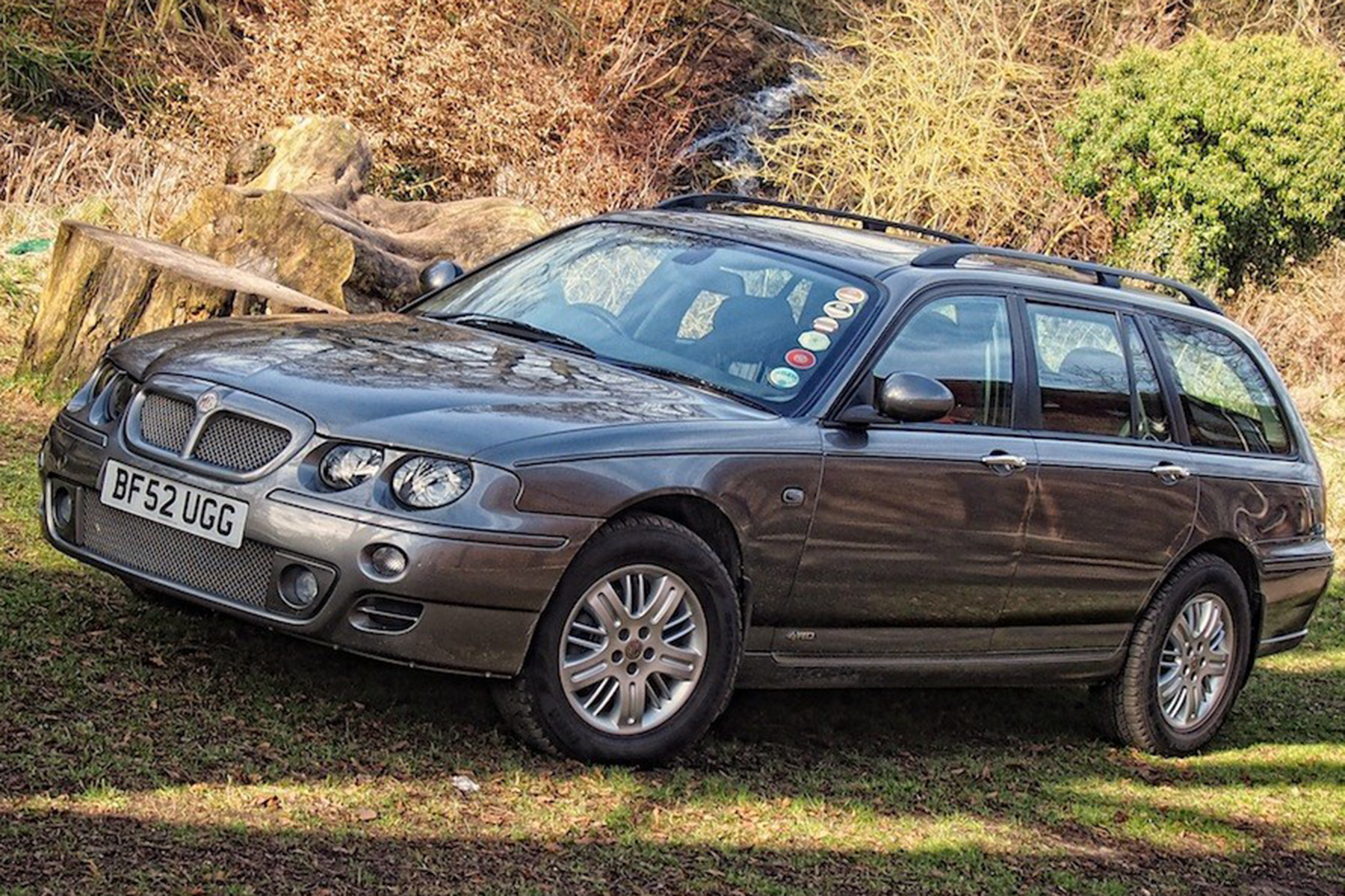 MG ZT-T four-wheel drive prototype – what might have been