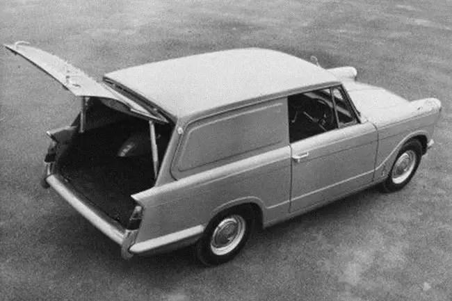 Rover-Triumph story 1962 - Triumph Courier