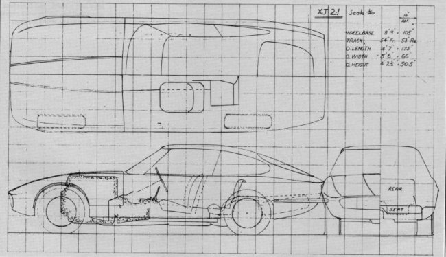 More Italianate XJ21 proposal..