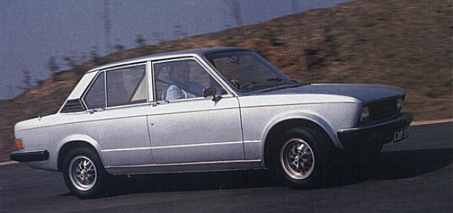 Michelotti proposal for the Triumph SD2 started out as a facelift proposal for the Dolomite...