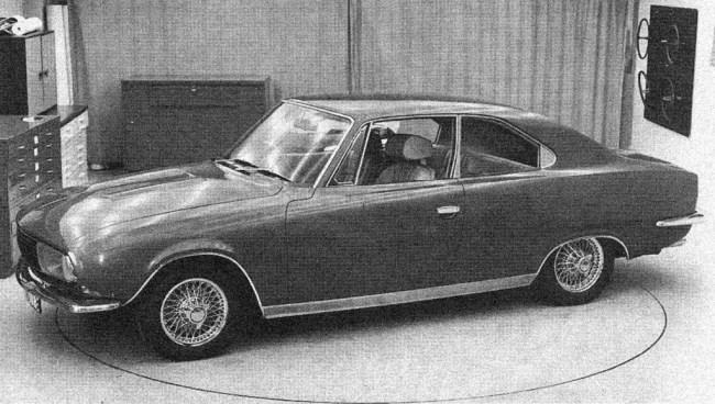 Rover-Triumph story 1966: Alvis GTS