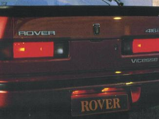 Rover 416i Vitesse badge