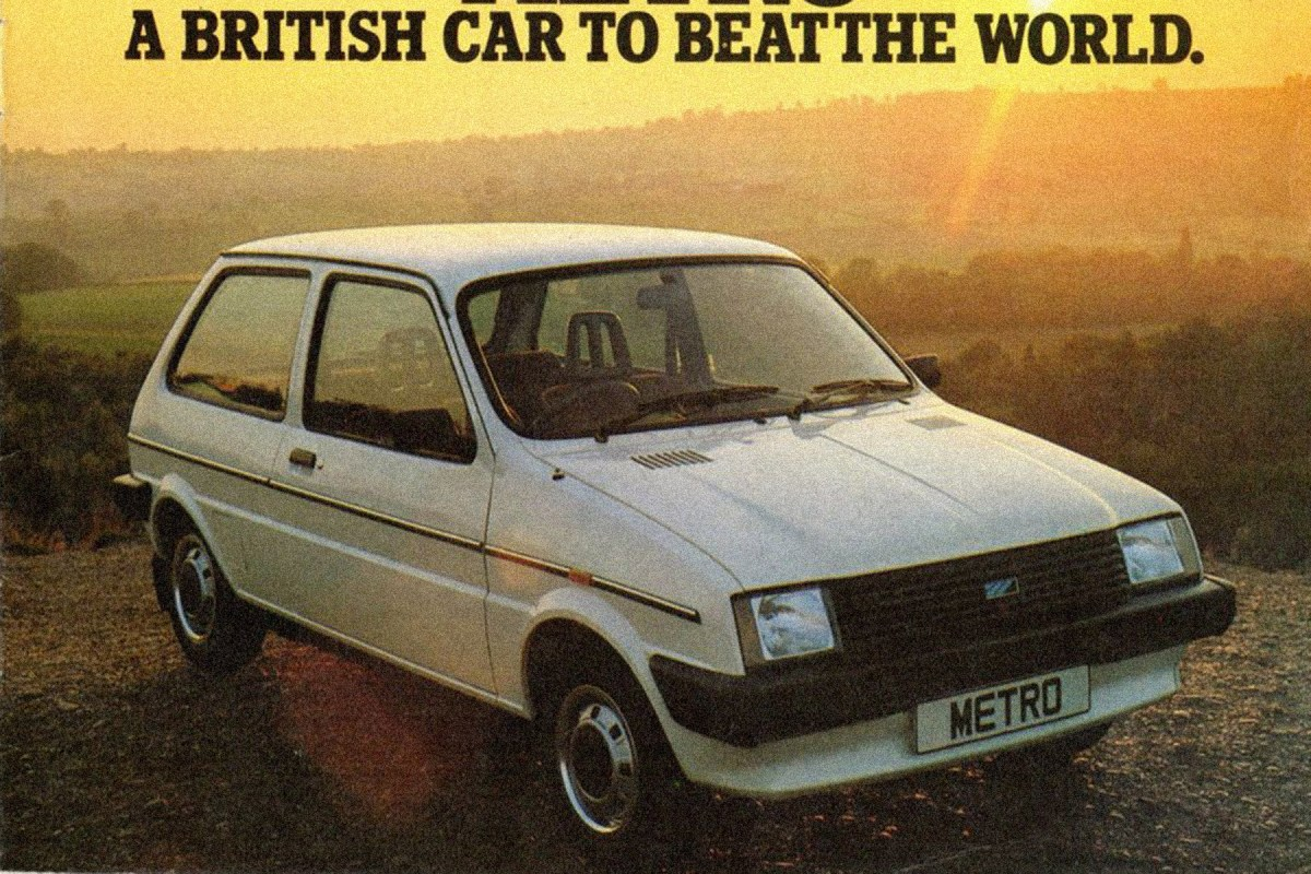 The cars : Austin Metro (LC8) development story