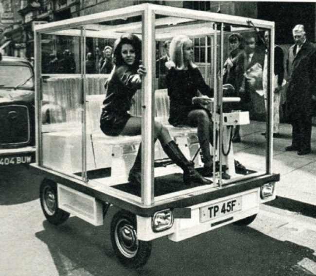 The prototype/press car for Quasar-Unipower turns heads in London 1968