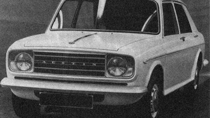 Austin ADO22 project was intended to bring the 1100/1300 into the 1970s