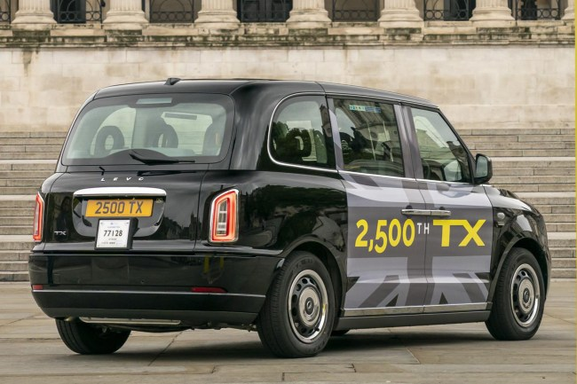 LEVC's 2500th TX black cab