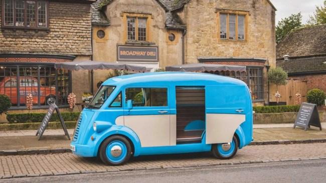 Morris Commercial JE Electric Van