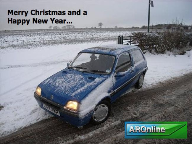 Merry Christmas from AROnline