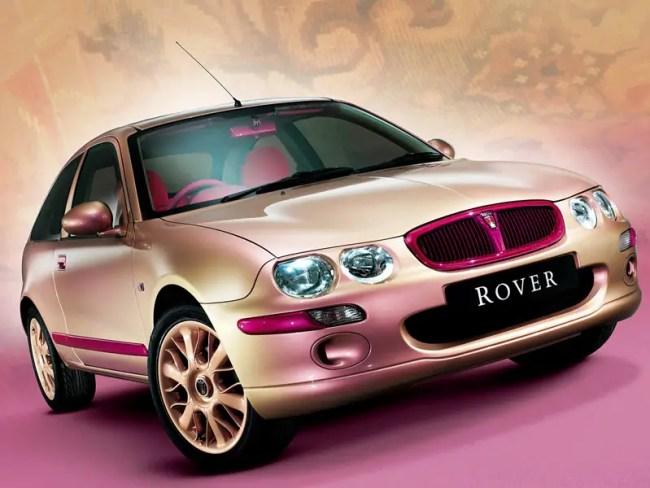 Rover 25 Matthew Williamson Art Car concept