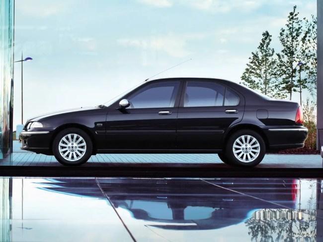 Rover 45 profile view
