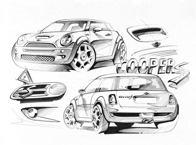 MINI Cooper S sketches