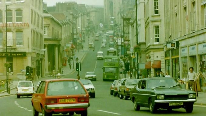 Bristol street scene - 1983