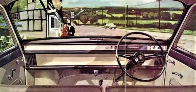 Few distractions: Austin 1800 Mk1. 1964