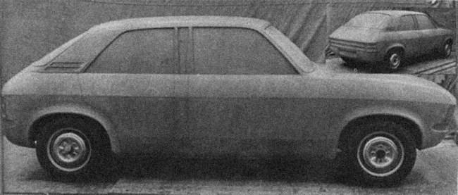 Austin Allegro clay model (2)