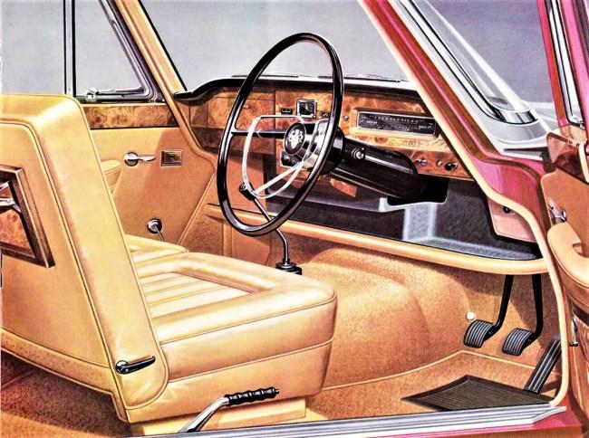 Comfort zone: Austin A110 Mk2 Super Deluxe. 1964