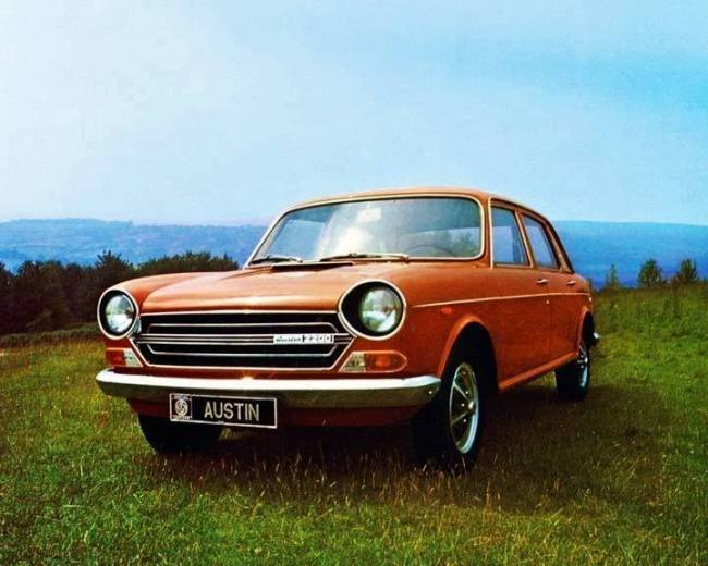 Continental Europe Austin 2200 - 1972.