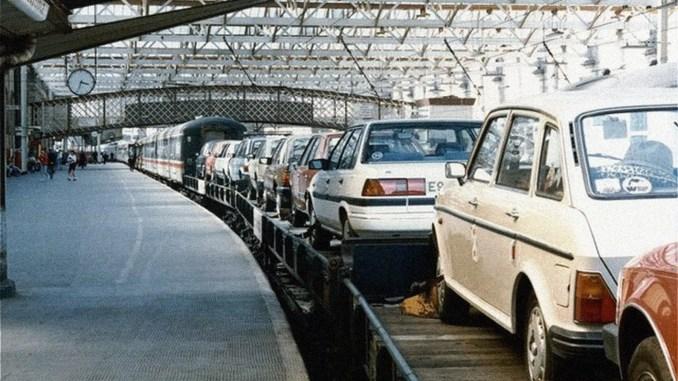Motorail, Carlisle 1988