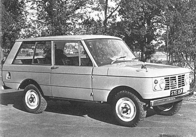 1966 Range Rover