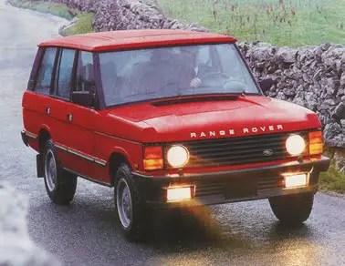 1987 Range Rover USA