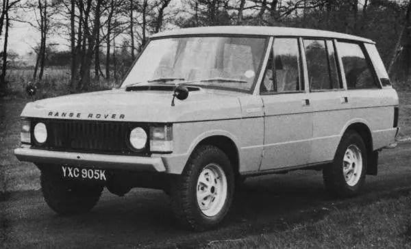 Range Rover four-door prototype