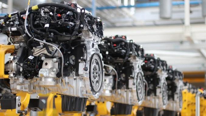Ingenium D6 engines in production